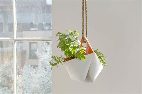 hanging herb planters modern systems to help your herb garden thrive in small spaces