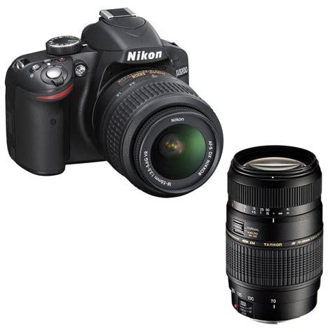 nikon d3200 af s dx nikkor 18 55 mm vr ii tamron af 70 300mm f 4 5 6 di ld macro 1 2 monture