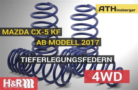 Mazda Cx 5 Tieferlegen by Tieferlegungsfedern Mazda Cx 5 Ab 2017 4wd H R T 220 V
