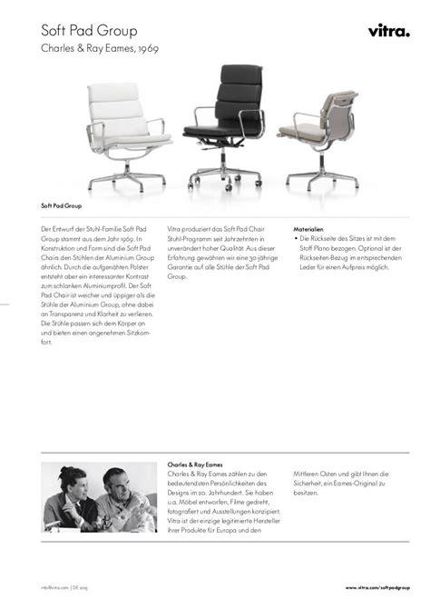 Vitra Soft Pad by Vitra Soft Pad Chair Ea 217 Charles Eames 1969