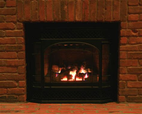brick gas fireplaces fireplaces