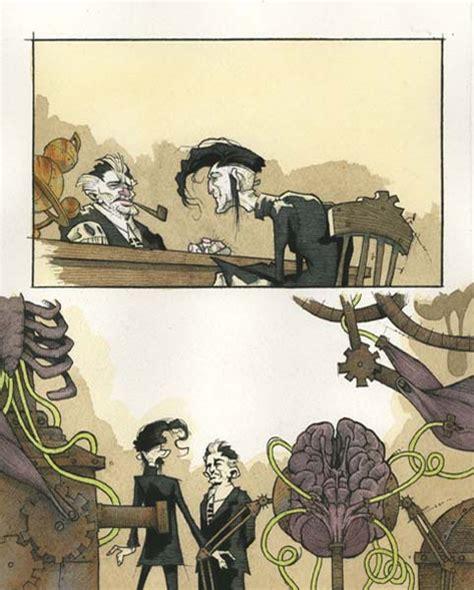 Gris Grimly S Frankenstein new illustrations from gris grimly s frankenstein dread central
