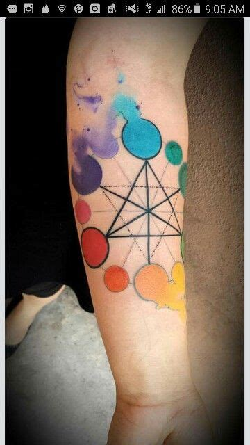 color wheel tattoo 25 best ideas about wheel on