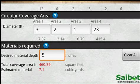 Square To Cubic Calculator Convert Square Inches To Cubic Yards