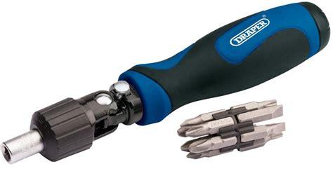 Sellery Ratchet Screwdriver 11 242 new 11 soft grip ratchet screwdriver set from draper