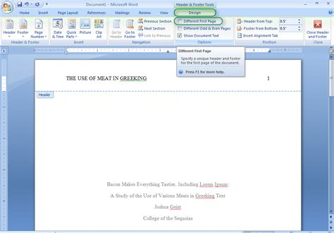 office 2007 apa template office 2007 apa template microsoft office apa template