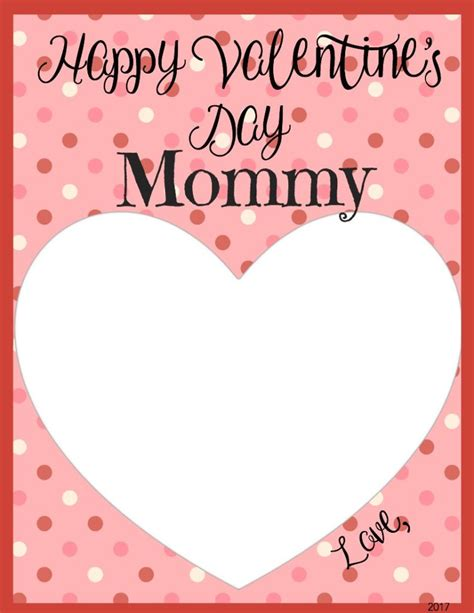 Printable Valentines Day Cards For Parents