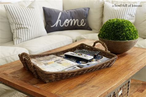 Coffee Table Decor Tray Remodelaholic Why You Should Use Trays In Your Home Decor