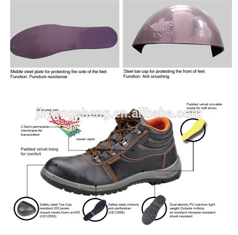Safety Shoes Boots Cakep guardrite brand wholesale cheap work safety boots