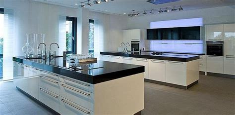 amazing kitchen inseln large island large modern kitchens all