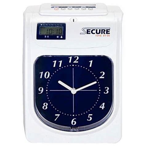 Mesin Absensi Check Clock jual mesin absen secure time st 86 spesifikasi dan harga