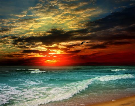 wallpaper 4k sea wallpaper sea 5k 4k wallpaper 8k ocean sunset shore