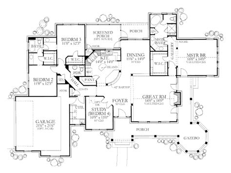 ranch floor plans with great room house plan great room floor single story distinctiveen