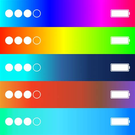status bar color color status bar custom colored status bar background
