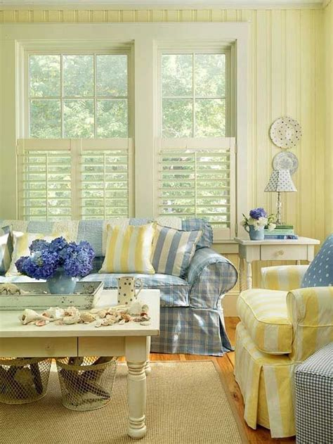 country blue and yellow country cottage decor everything coastal