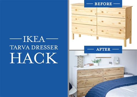 tarva bed ikea hack diy bedroom dresser ikea tarva dresser hack