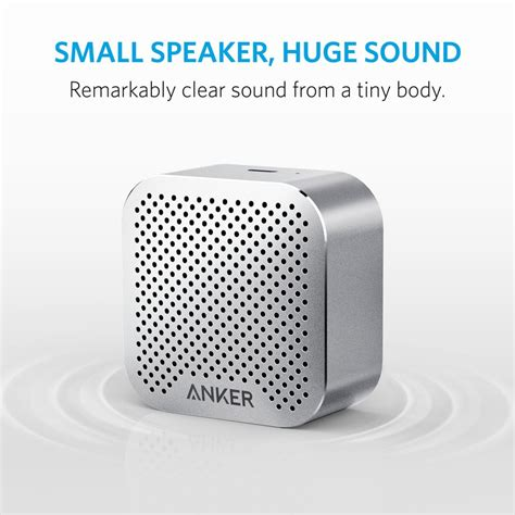 anker nano speaker anker soundcore nano bluetooth speaker gray price in