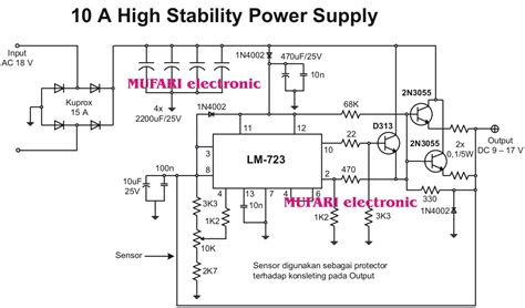 Power Supply Smps 12 Volt Untuk Arduino 10 a high stability power supply mufari electronic