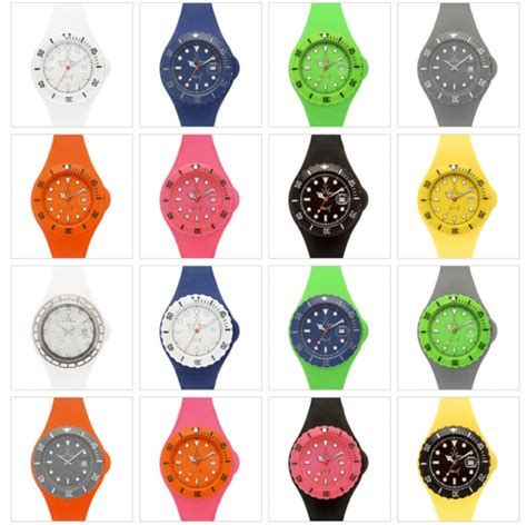 Toywatch Jam Tangan Tymo05gr Green funky jelly collection by toywatch