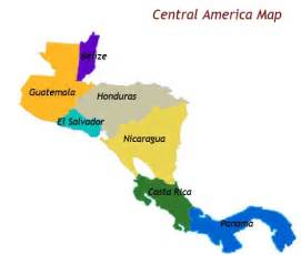 america and central america map blank physical map of central america image search results