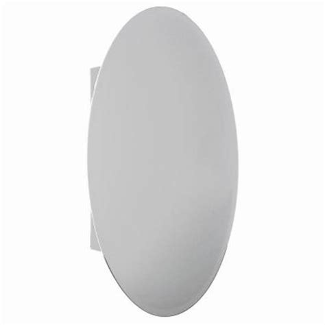 oval mirror medicine cabinet recessed glacier bay 20 in x 30 in recessed or surface mount