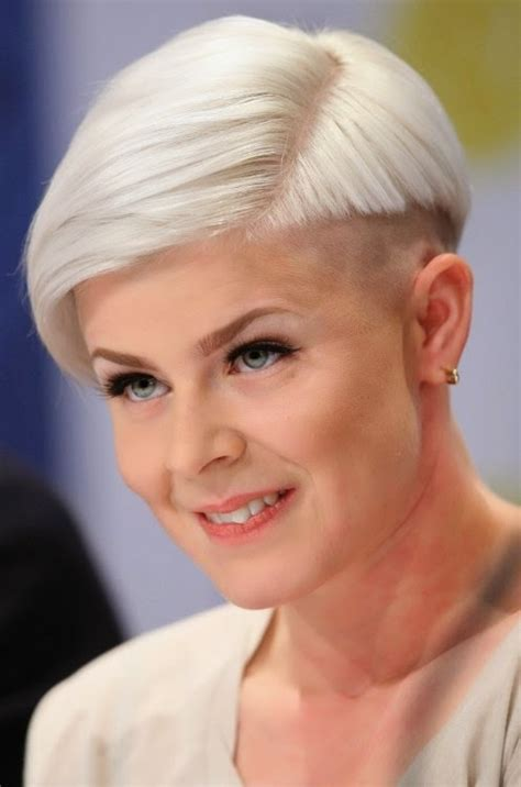 shaved haircuts for older women latest short long haircut ideas for old age women