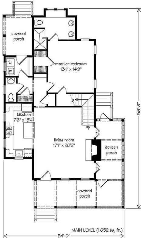 Small Cottage Plans . . . Farmhouse Style!