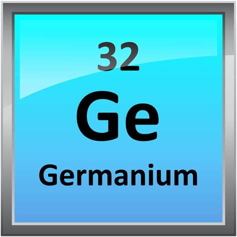 Germanium Periodic Table by 032 Germanium Science Notes And Projects