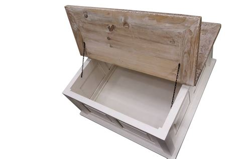 white trunk coffee table storage trunk coffee table grey or antique white by the