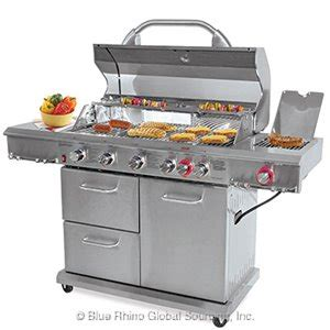 Backyard Brand Grills by Blue Rhino Gbc1586we C