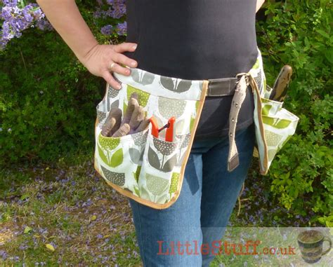 sewing pattern utility belt diy garden tool belt tutorial great homemade gift for