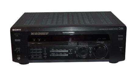 sony str de  channel  watt receiver ebay