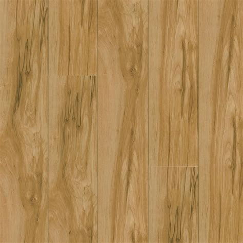 shop armstrong high gloss birch wood planks sle caramel birch at lowes com
