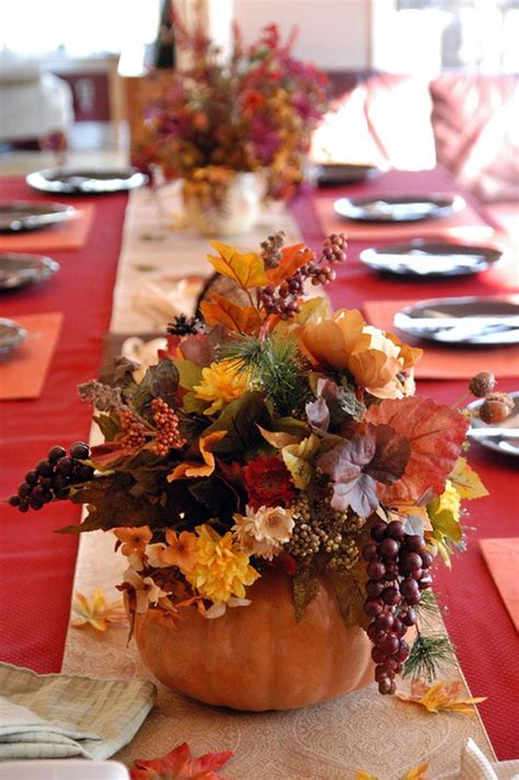 interior thanksgiving day table decorations pass the pumpkins thanksgiving centerpiece ideas