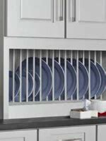 kitchen cabinet plate rack storage storage kitchen cabinet accessories mid continent cabinetry