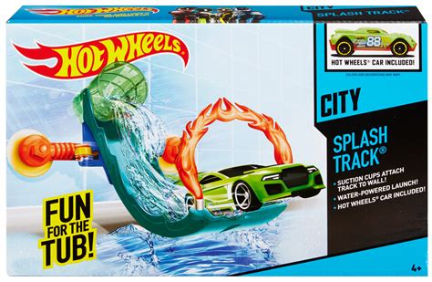 hot wheels bathtub race track hot wheels 174 splash track track set shop hot wheels cars