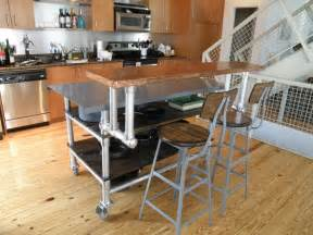 how to build a kitchen island cart 12 diy kitchen island designs ideas home and gardening