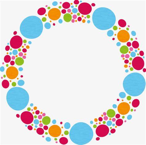 html border color vector color polka dot border color polka dot frame png