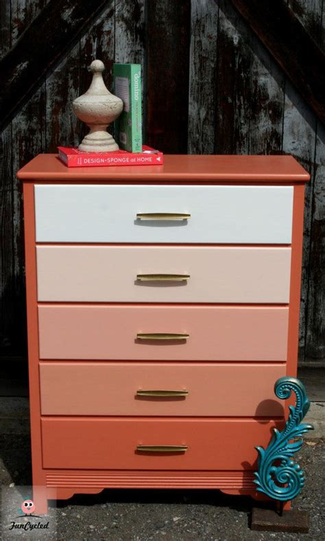 malm dresser redo chrome spray paint furnish 29 best ombre furniture images on pinterest paint