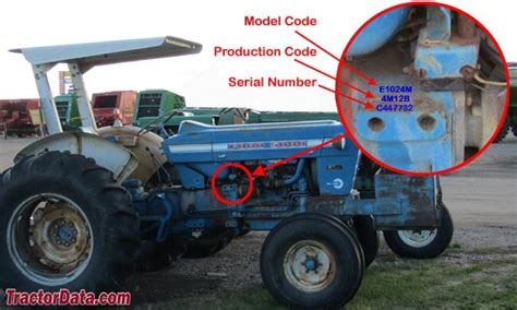 Tractor Serial Number Search Ford Tractor Serial Number Guide Ford Release