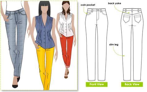 sandra jeans pattern review stylearc sandra narrow leg jean