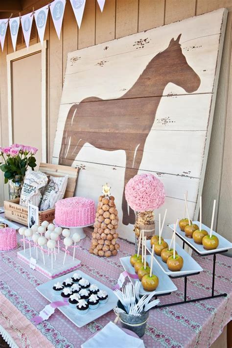 horse themed events 10 rustic kids birthday party ideas horse party horse