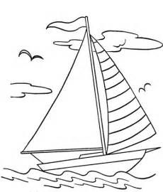 Sailing Boats Colouring Pages sketch template