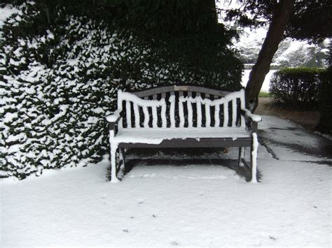 bench in snow snow covered bench by fuguestock on deviantart