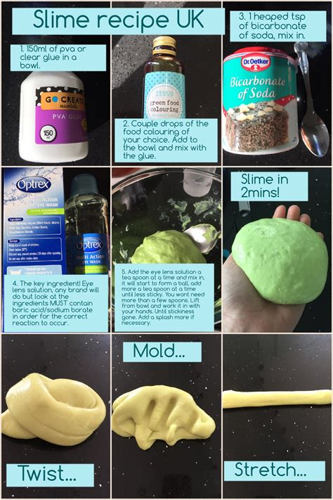 glue recipe a slime recipe that will work in the uk the key slime