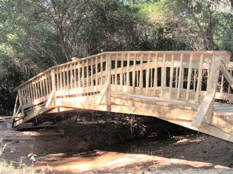 how to build a small wooden bridge project plan guide to get build wooden bridge over creek