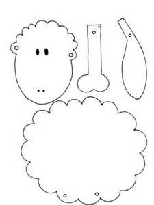 sheep template for preschool best photos of preschool sheep printable template
