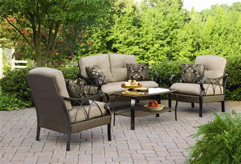 la z boy outdoor dlog 4pc logan 4 pc seating set