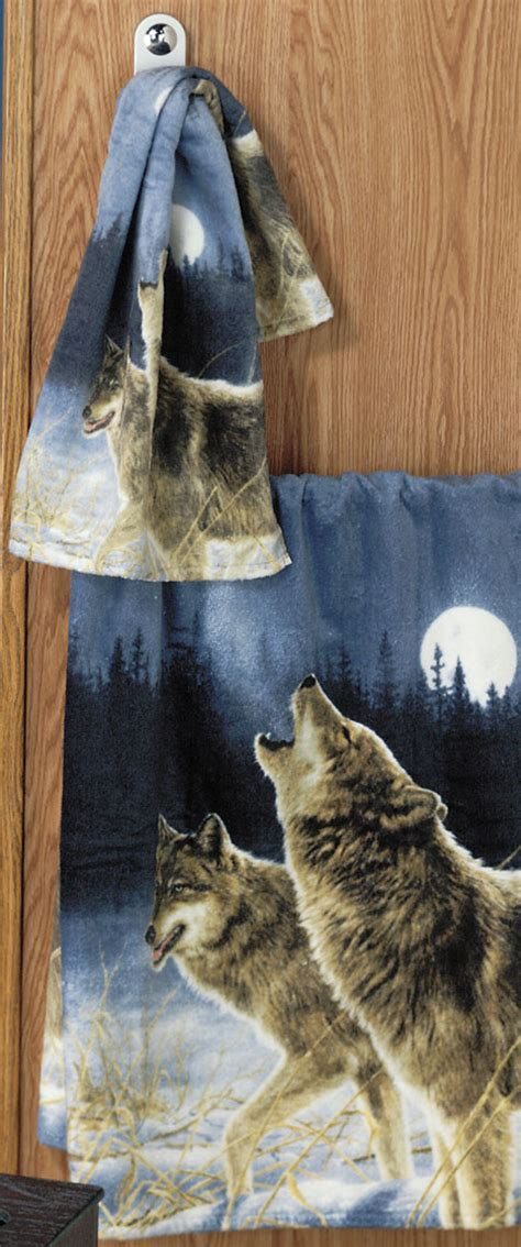 Crafty Inspiration Ideas Wolf Bathroom Set Best Home
