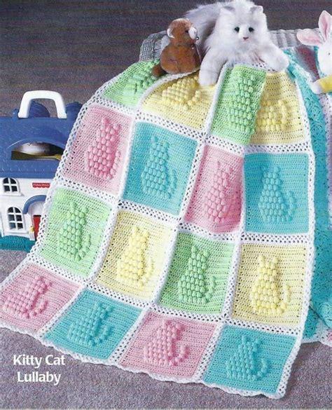 cat blanket pattern baby blanket crochet pattern afghan cover quot kitty cat